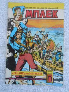 MPLEK A PERIODOS # 346 , YEAR 1976 , GREEK EDITION RARE COMICS