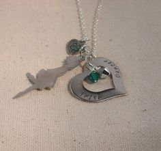 Irish Dancer Necklace Hand Cut Pendant by RoxysCreations on Etsy, $17.00
