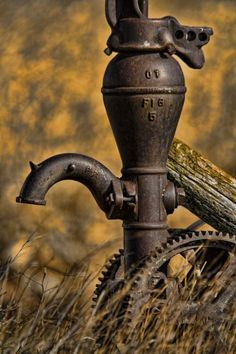 old water pumps antiques Country Charm, Rustic Charm, Country Life, Country Living, Country Treasures, Old Water Pumps, Pompe A Essence, Robert Wood, Water Well