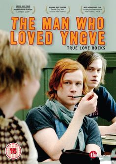 The Man Who Loved Yngve (Mannen som elsket Yngve), released in 2008 is a Norwegian film about the formation of a band during a time of political upheaval. Film Genres, Film Books, Man In Love, The Man, Lgbt, Troubled Teens, The Power Of Music, Cinema, Grand Jury
