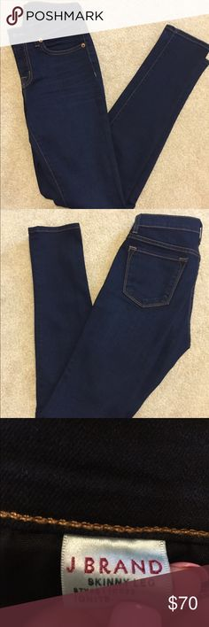 J Brand Jeans-Skinny Leg-Size 26 2 Pair Available J Brand Jeans-Skinny Leg-Size 26x31 Worn a few times, Excellent Condition-Dry Cleaned Only-92% Cotton, 7% Polyester, 1% Elastane. I have 2 pair available. J Brand Jeans Skinny