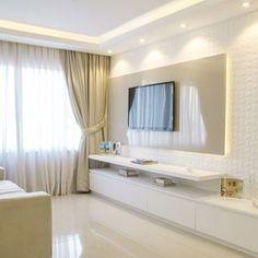 Modern Contemporary, Modern Design, Sweet Home, Living Room Designs, Living Rooms, Corner Bathtub, Mirror, Wall, Instagram