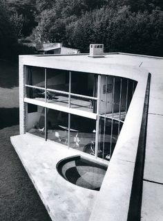 ANDRÉ BLOC, The Bellevue House, Meudon, France 1949-1952. Photography by E. B. Weil.