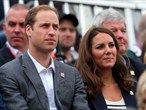 Royalty and celebrities enjoy the Olympic Games