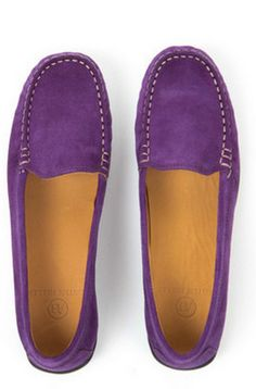 purple suede loafers  http://rstyle.me/n/wi2dipdpe