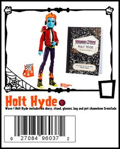 Wave 1 Holt Hyde includes stand, diary and pet Crossfade