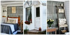 Would like to find out about farmhouse sheds? Then here is without doubt the right place! Farmhouse Sheds, Farmhouse Plans, Tiny Spaces, Small Rooms, Guest Cottage Plans, Craftsman Sheds, Cheap Sheds, Old Farm Houses, Tiny Houses