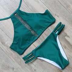 Item Type: Bikinis Set Gender: Women Pattern Type: Solid Model Number: B719 Material: Acrylic,Spandex,Polyester Fit: Fits smaller than usual. Please check this stores sizing info SIZE: S:US2-4/ Bust