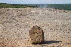 Geysir Stone in Icelad