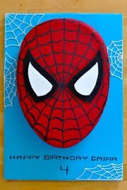 Spiderman Does whatever a spider can Spins a web any size Catches thieves just like flies Look out, here comes the Spiderman I was asked to make a Spiderman cake for a little girl turnin… Spiderman Birthday Cake, 5th Birthday Cake, Superhero Cake, Superhero Birthday Party, 4th Birthday Parties, Boy Birthday, Spiderman Spiderman, Birthday Ideas, Spider Man Party