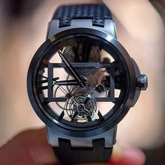 Ulysse Nardin Executive Skeleton Tourbillon. Only $35,000 who wants one? Spotted @ifuckinglovewatches @ulyssenardin #gear #manstrav Tag us for a chance to be featured! @manstrav.official #mensfashion #timepieces #cartier #rolex #timepiece #wristgame #watc
