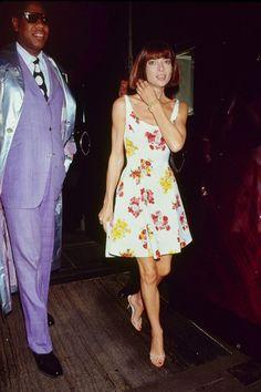 Anna Wintour, 1990.
