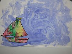 Literature based activities - My Blue Boat      From:  Melissa Michaux via Samantha Cash onto Homeschool