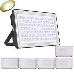 6X 300W Warm White LED Flood Light Landscape Lamp Floodlight Fixture IP65 AC110V