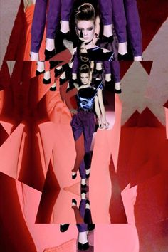 19 Pinnable Marc Jacobs Mash-Ups Inspired by His Most Madcap Collections Collage by Lysa Thieffry