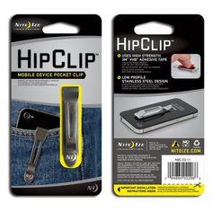 HipClip, Mobile Device Pocket Clip. $5.59