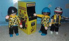 Pac-Man y playmobil..de mi coleccion