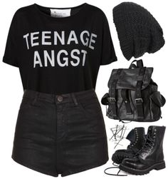 Teenage anguish polyvore i love it all!!!