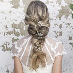 Long Wedding Hairstyles via Vanessa Barney hair /  / http://www.himisspuff.com/vanessa-barney-wedding-hairstyles/
