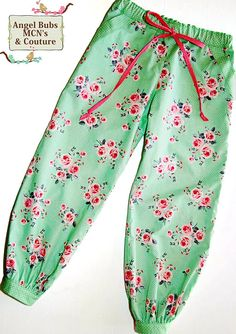 Girls Harem Pants PDF Pattern 'Little Miss by MyPatternEmporium, $12.00