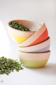 | Dipped wooden kitchen accessories