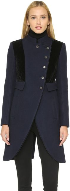 #Marcr By #MarcJacobs #Norman Bonded #Wool #Coat