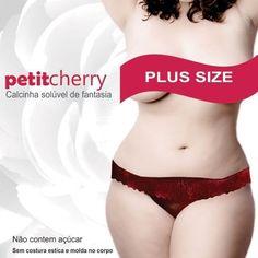 A Sex Shop Erotic Mania recebeu a Calcinha Comestível Plus Size PetitCherry Caminhos do Amor, clique e confira!