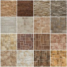 The kind of wall built will be contingent on the essence of the stones out there. You might also think about whether you may want to hang anything from the wall. It's still true that you would like it to resemble a vintage wall. Stone Tile Texture, Brick Texture, Tiles Texture, Stone Tiles, Brick Tile Wall, 3d Wall Tiles, Wall Tiles Design, Exterior Wall Cladding, Stone Cladding