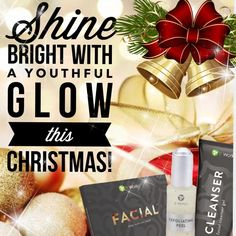 ⭐️Shine Bright⭐️ Facial👉Deep hydration the look of fine lines and wrinkles while giving your a with It Works Loyal Customer, Exfoliating Peel, It Works Distributor, It Works Global, It Works Products, Christmas Gift Sets, Hair Skin Nails, Holiday Deals, Body Wraps