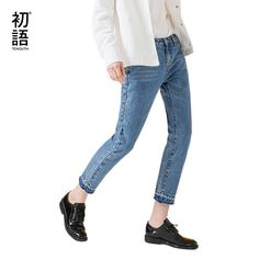 Skinny type fashionable mid waist and ankle lenght jeans Description:Closure Type: Zipper FlyFabric Type: SoftenerBrand Name: ToyouthWaist Type: MidFit Type: S Jean Skirt, Jeans Style, Capri Pants, Trousers, Zipper, Ankle, Skinny, Type, Clothes For Women