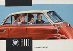 BMW 600 1959, brochure cover.