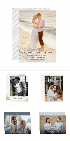 Stylish Save The Date Photo Cards Save The Date Photos, Save The Date Cards, Save The Date Invitations, Invitation Design, Photo Cards, Big Day, Dates, Stylish, Celebrities