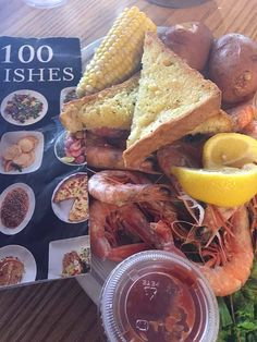 100 Dishes To Eat In Alabama Before You Die-Royal Red Shrimp at King Neptune's in Gulf Shores Alabama, is my #70th taste on my quest to try all of the 100 Dishes To Eat In Alabama Before You Die.  This is my new favorite shrimp.  Seriously, it tastes like lobster!