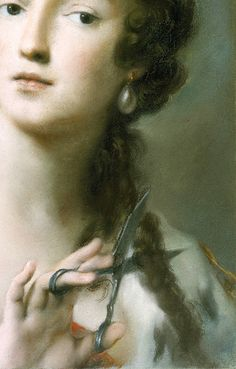 Rosalba Carriera Caterina Sagredo Barbarigo as Berenice