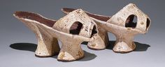 Chopines [Venice], 1600. Leather, silk,  wood. These platform shoes served to keep the feet from getting wet/soiled, also to signal an elevated social status. The Metropolitan Museum of Art