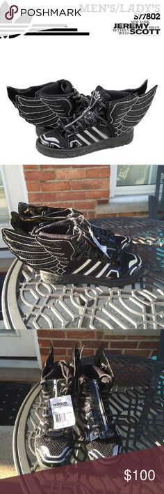 a3a9cc044bdda6 eremy Scott Mesh Wings 2.0 Mens Size 7.5 Features mesh leather This is part  of