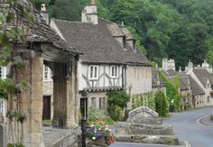 Castle Combe in Whiltshire.....