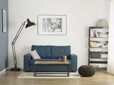 Canapé convertible en tissu vert et bleu Sande Sofa Bed Blue, Blue Bedding, Fabric Sofa, Chesterfield, Matcha, Duvet, Quilts, Easy, Helsinki