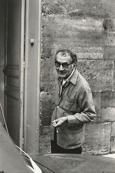 Man Ray, Paris 1969 -by Henri Cartier-Bresson (Man Ray was the photographer of the stars, well one of them)