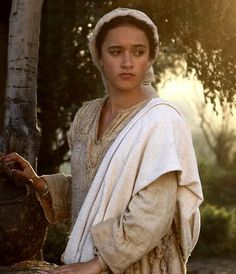 """Mary from """" The Nativity Story""""... I want to be like her---a truly virtuous woman."""