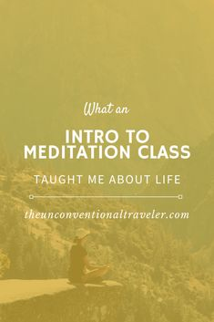 I took an intro to meditation class. Here five lessons it taught me about life and the resources you need to learn more about meditating without an app. Meditation For Anxiety, Free Guided Meditation, Meditation Videos, Easy Meditation, Meditation For Beginners, Meditation Benefits, Mindfulness Meditation, Mindfulness Training, Meaningful Life