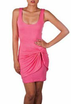 Tank dress W/ Waist Knot Detail Spring 2014, Tank Dress, Knot, March, Detail, Dresses, Fashion, Vestidos, Moda