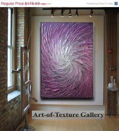 SALE 30 x 40 Custom Original Abstract Texture by artoftexture