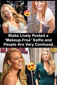 Blake Lively Posted a 'Makeup-Free' Selfie and People Are Very Confused Intresting News, O Euro, Keyboard Warrior, Laughing Therapy, Wtf Funny, Hilarious, Viral Trend, Funny Captions, Full Face Makeup