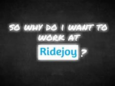 After posting an Ad for a Community Manager position, San Francisco based Ridejoy received a ton of applicants, including one from a Margot Leoug. Like everyone else, she sent A CV and a cover letter with five ideas about developing the Ridejoy community. But then she went the extra mile and wooed them with an innovative pitch....
