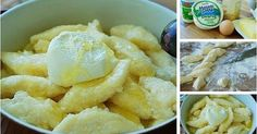 Składniki:250g białego sera2 jajka2 łyżki mąki ziemniaczanej3 łyżki mąki pszennej700g ziemniakówsól, olejpół kostki masłabułka tartacukierWykonanie:Ziemniaki obrać, umyć, ugotować w osolonej wodzie. Ostudzić.Ser i ziemniaki zmielić w maszynce do mielenia mięsa. ...