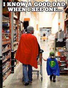 Parenting Done Right. Too cute!
