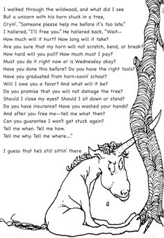 Homework machine by shel silverstein