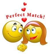 Smileys are Perfect Match