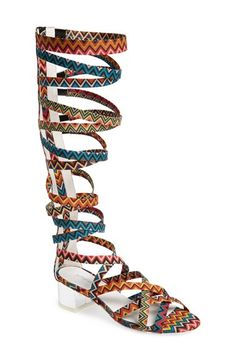 Jeffrey Campbell 'Enyo' Gladiator Sandal (Women) available at #Nordstrom